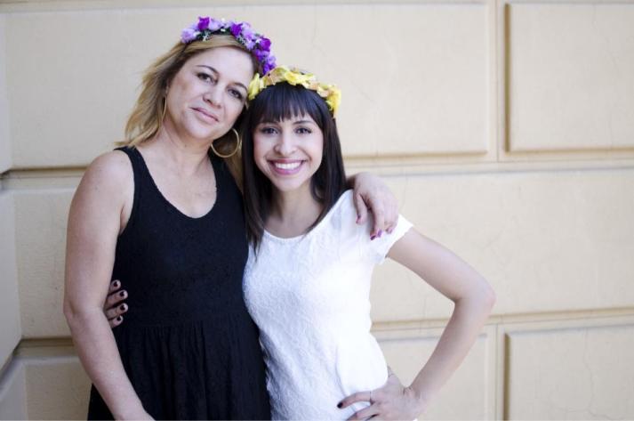 tiaras Tânia e Carol