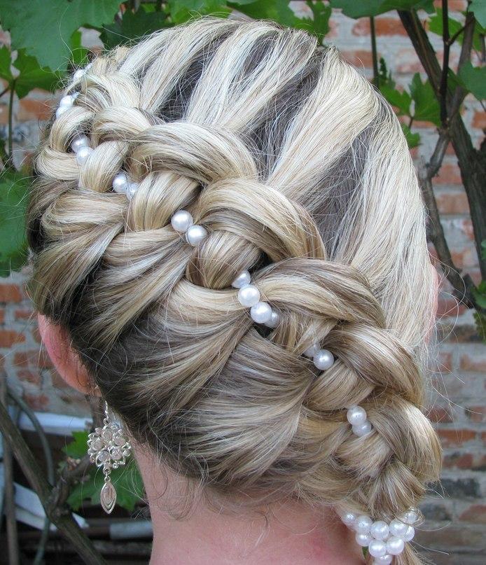 penteado perólas