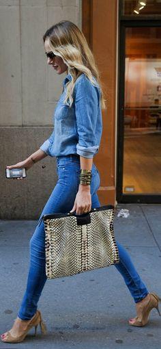 jeans calça blusa