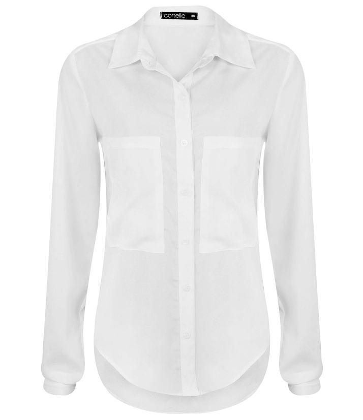 camisa branca Renner