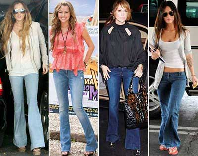 flare jeans 1