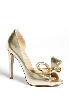 sandálias dourada