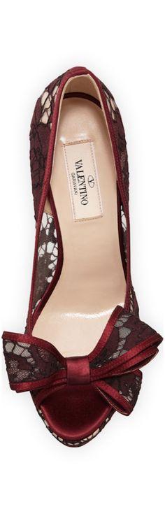 sapatos vinho