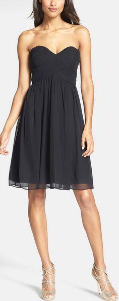 vestido crepe preto