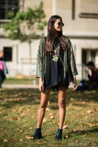 Gizele Oliveira, Paris Fashion Week Spring/Summer 2015