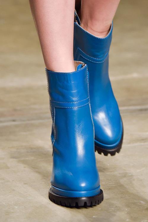 botas azuis