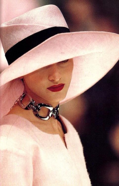 chapéu rosa